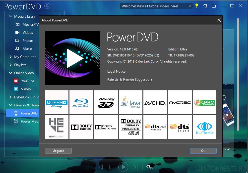 CyberLink PowerDVD Ultra 18.0.2202 RePack by qazwsxe