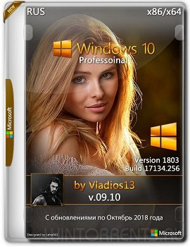 Windows 10 Professional (x86-x64) 1803 by Vladios13 v.09.10