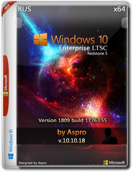 Windows 10 Enterprise LTSC 2019 (x64) by Aspro v.10.10.18
