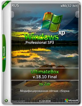 Windows XP Pro SP3 (x86) UltimateBox by Zab v.18.10 Final