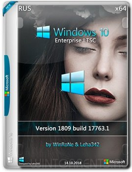 Windows 10 Enterprise LTSC (x64) 1809 by WinRoNe & Leha342