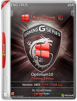 Windows 10 (x64) Optimum10 Gaming Edition By Sunehildeep
