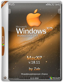 Windows XP Pro SP3 (x86) MacXP v.18.11 Final by Zab