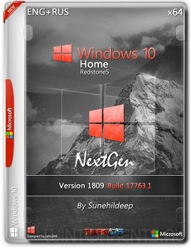 Windows 10 Home (x64) 1809 NextGen By Sunehildeep