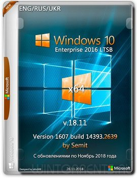 Windows 10 Enterprise LTSB 2016 (x64) by Semit v.18.11