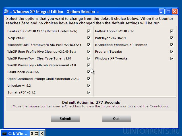Windows XP Professional SP3 (x86) Integral Edition by Ramsey v.2018.12.15