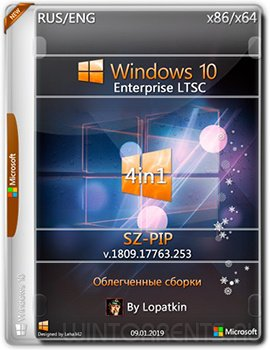 Windows 10 1809 Enterprise 2019 LTSC (x86-x64) 17763.253 PIP-SZ by Lopatkin