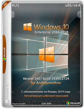 Windows 10 Enterprise 2016 LTSB (x86-x64) v.1607.14393.2724 by Andreyonohov