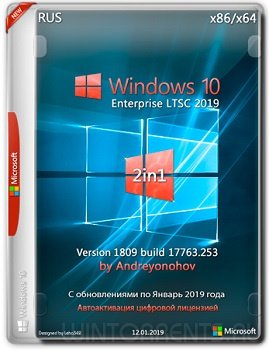 Windows 10 Enterprise LTSC (x86-x64) 2in1 v.1809.17763.253 by Andreyonohov