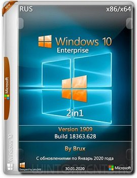 Windows 10 Enterprise (x86-x64) 1909.18363.628 by Brux