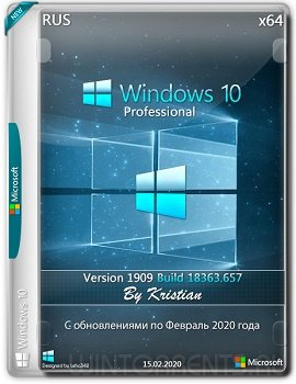 Windows 10 Pro (x64) v.1909.18363.657 by Kristian